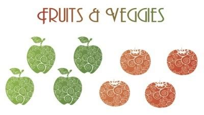 Research paper on fruits and vegetables